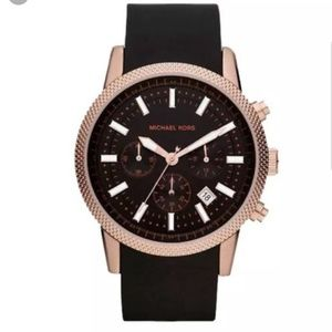 Michael Kors Rose Gold Watch Chronograph